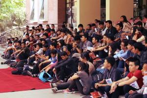 Suasana para peserta Pinissi Prodi